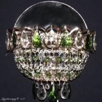 Бра Катерина Оптикон зеленый