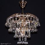 Люстра Брызги шампанского Пирамидка 40