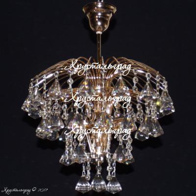 Хрустальная люстра Брызги шампанского Пирамидка 40
