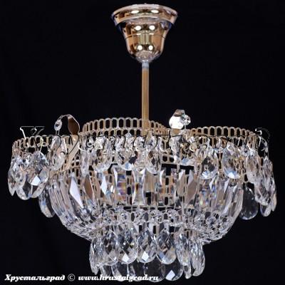 Хрустальная люстра Ромашка 1 лампа подвес